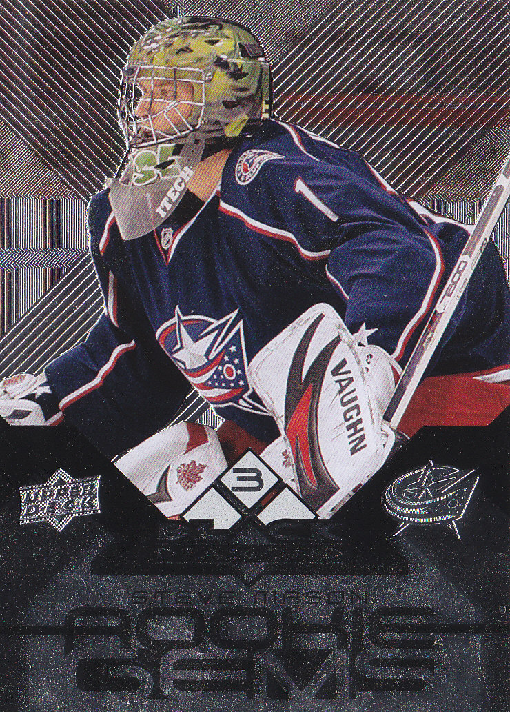 2008-09 Black Diamond #149 Steve Mason RC