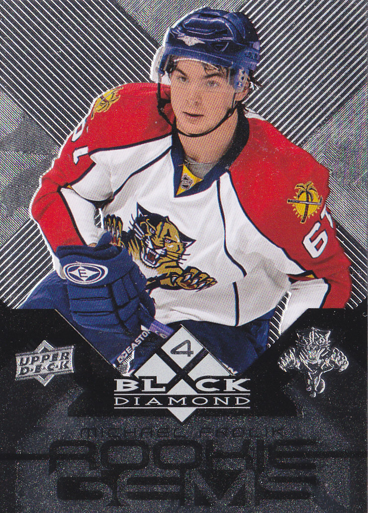 2008-09 Black Diamond #196 Michael Frolik RC