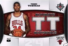 2007-08 Ultimate Collection Materials #TT Tyrus Thomas