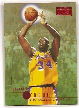 1996-97 SkyBox Premium Rubies #163 Shaquille O'Neal