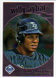 2008 Topps Heritage Chrome #C259 Willy Aybar