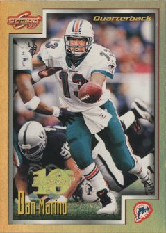 1999 Score Artist's Proofs #148 Dan Marino