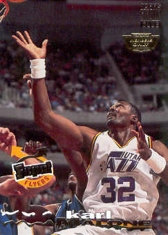 1993-94 Stadium Club Members Only Parallel #186 Karl Malone FF