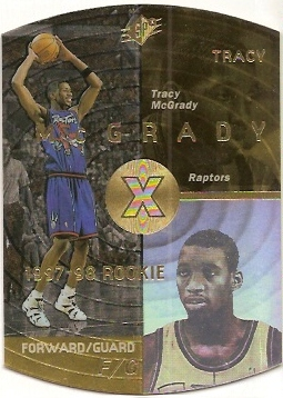 1997-98 SPx Gold #42 Tracy McGrady