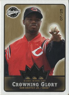 2003 Upper Deck Vintage Crowning Glory #KG Ken Griffey Jr.