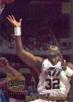 1993-94 Stadium Club Frequent Flyer Upgrades #186 Karl Malone