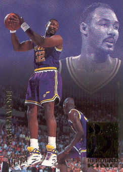 1993-94 Ultra Rebound Kings #4 Karl Malone