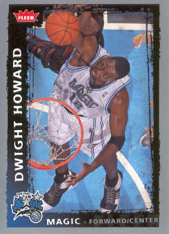2008-09 Fleer #17 Dwight Howard