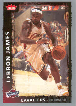 2008-09 Fleer #23 LeBron James
