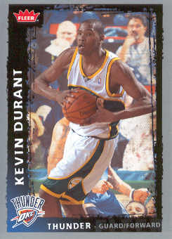 2008-09 Fleer #195 Kevin Durant