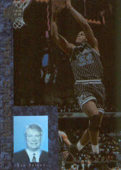 1994 Upper Deck USA Chalk Talk #CT9 Shaquille O'Neal