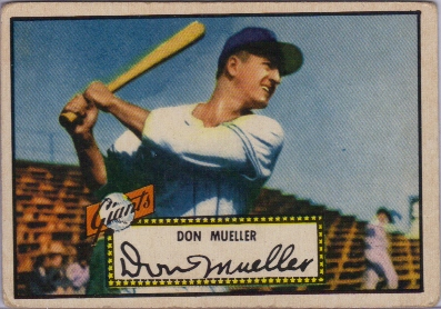 1952 Topps #52 Don Mueller