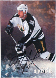1998-99 Be A Player Autographs #191 Darryl Sydor