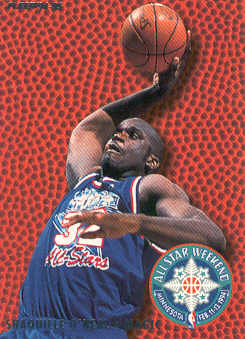 1994-95 Fleer All-Stars #9 Shaquille O'Neal