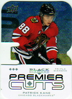 2008-09 Black Diamond Premier Die-Cut #PDC53 Patrick Kane