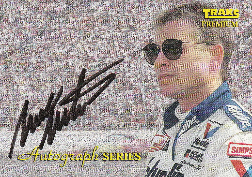 1994 Traks Autographs #A8 Mark Martin