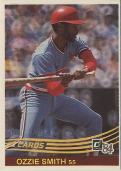 2002 Donruss Originals Embossed #99 Ozzie Smith 1984/2