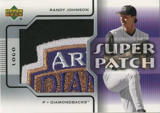 2005 Upper Deck Super Patch Logo #RJ Randy Johnson/24 *