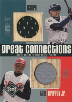 2002 Upper Deck Diamond Connection Great Connections #IG Ichiro Suzuki/Ken Griffey Jr.