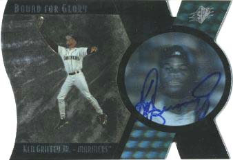 1997 SPx Bound for Glory Supreme Signatures #2 Ken Griffey Jr. front image