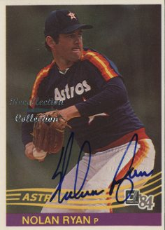 2002 Donruss Originals Recollection Autographs #90 Nolan Ryan 84/16