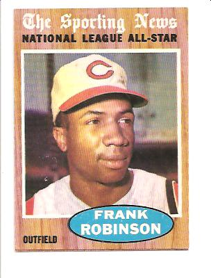 1962 Topps #396 Frank Robinson AS