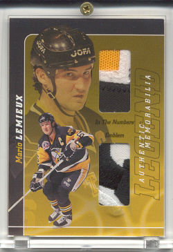 2000-01 BAP Signature Series Mario Lemieux Legend #LM1 Mario Lemieux EMB
