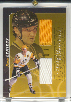2000-01 BAP Signature Series Mario Lemieux Legend #LM4 Mario Lemieux Jsy/Jsy