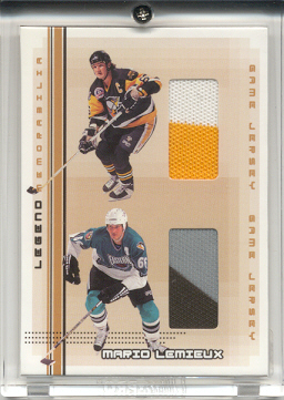 2000-01 BAP Memorabilia Mario Lemieux Legends #L10 1991 Jsy/1996 Jsy