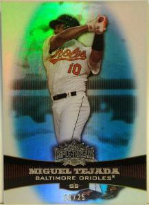 2006 Topps Triple Threads Sapphire #33 Miguel Tejada