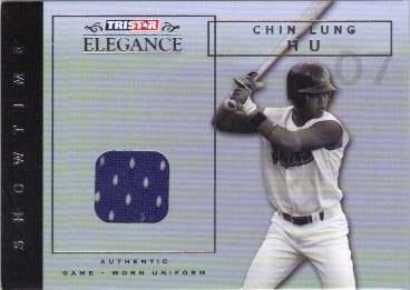 2007 TRISTAR Elegance Showtime Game Used #CH Chin-Lung Hu