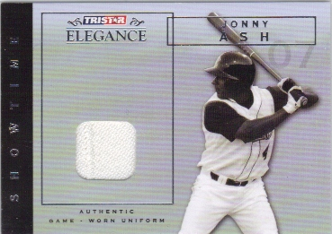 2007 TRISTAR Elegance Showtime Game Used #JA Jonny Ash