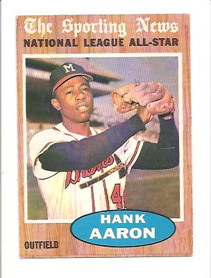 1962 Topps #394 Hank Aaron AS