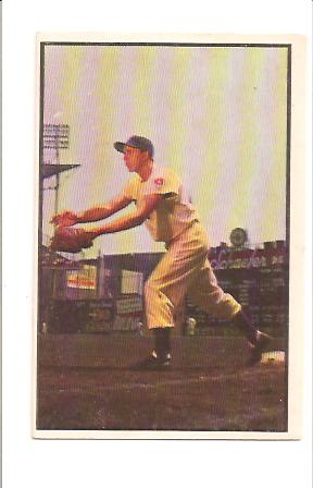 1953 Bowman Color #92 Gil Hodges