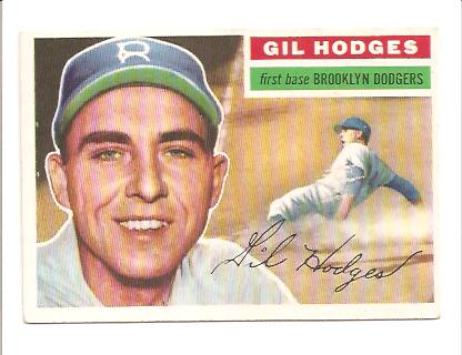 1956 Topps #145 Gil Hodges