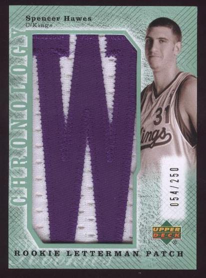 2006-07 Chronology 2007-08 Rookie Draft Redemptions Silver #256 Spencer Hawes
