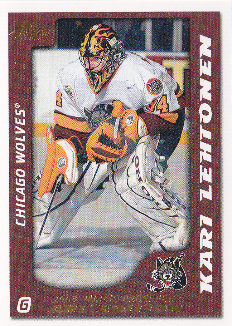 2003-04 Pacific AHL Prospects Gold #13 Kari Lehtonen