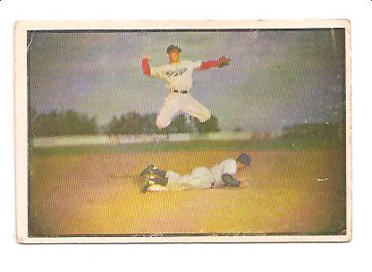1953 Bowman Color #33 Pee Wee Reese