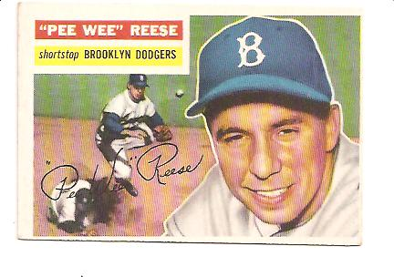 1956 Topps #260 Pee Wee Reese