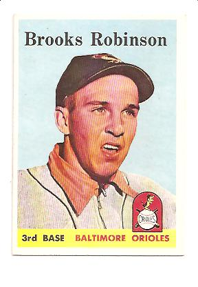 1958 Topps #307 Brooks Robinson