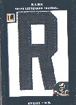 2008 Topps Letterman Patches #LPDA Donnie Avery/45*