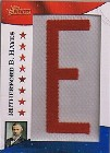2009 Topps American Heritage American Presidents Patches #RH Rutherford B. Hayes/250 */Each letter serial #'d/50
