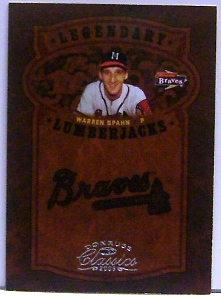2005 Donruss Classics Legendary Players #47 Warren Spahn