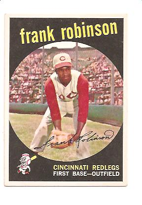 1959 Topps #435 Frank Robinson
