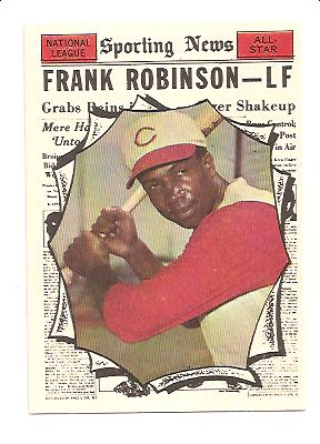 1961 Topps #581 Frank Robinson AS