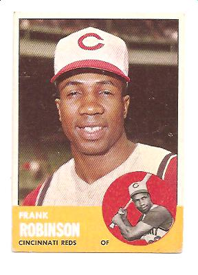 1963 Topps #400 Frank Robinson