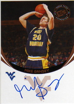2006 Press Pass Autographs #50 Mike Gansey
