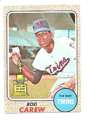 1968 Topps #80 Rod Carew