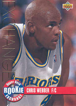 1993-94 Upper Deck Rookie Exchange Gold #RE1 Chris Webber