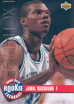 1993-94 Upper Deck Rookie Exchange Gold #RE4 Jamal Mashburn